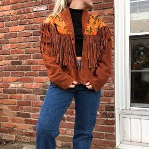 Jackets & Blazers - Vintage Suede Jacket